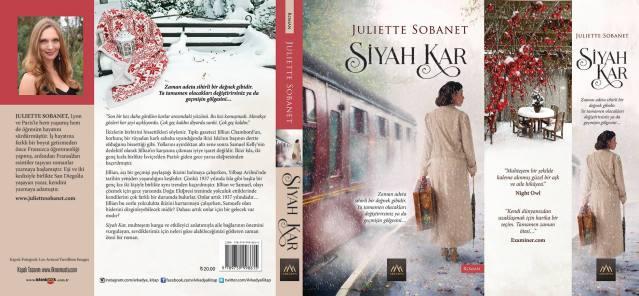 Siyah Kar Print Cover
